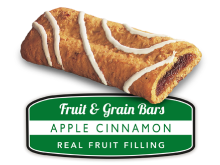 Apple Cinnamon Fruit and Grain Bar
