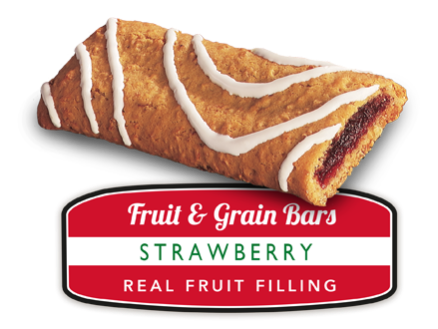 Strawberry Fruit and Grain Bar