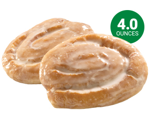 Glazed Honey Buns - 4.0 oz
